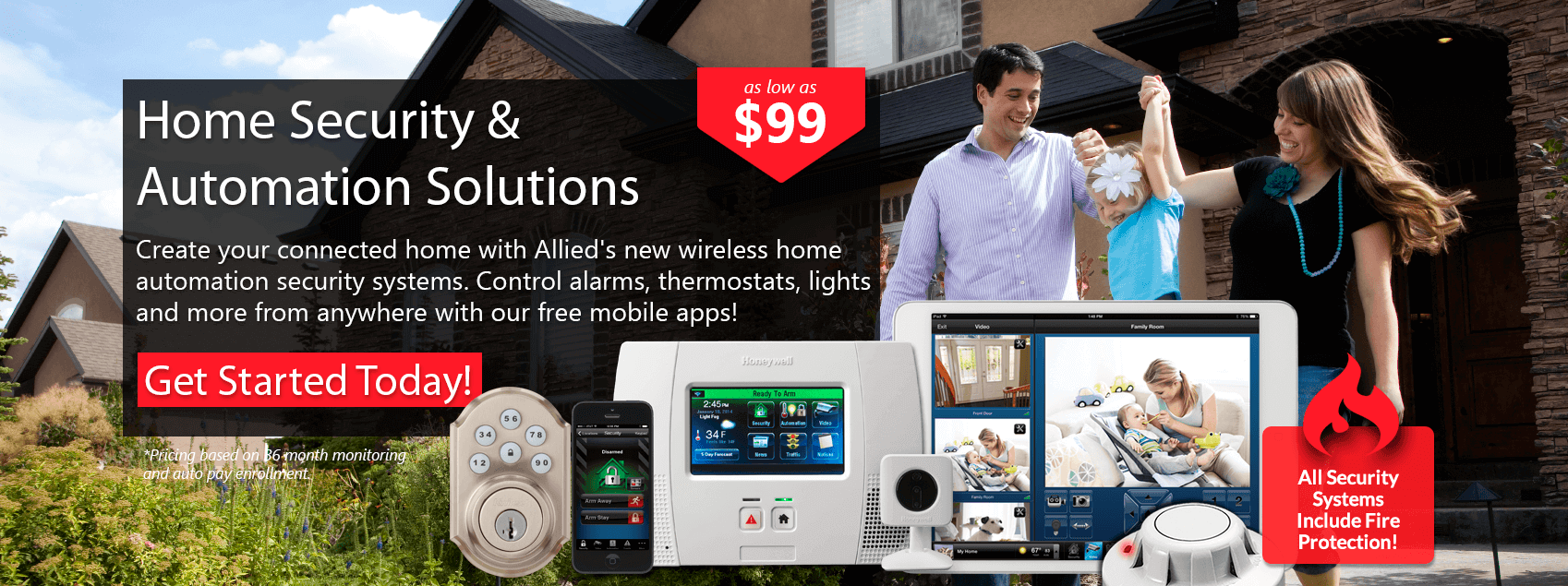 Home Security & Automation Solutions Banner