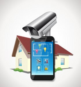 Home Security Graphic - smart home