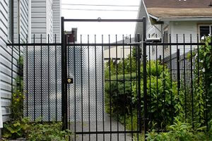 Business Security - Access Control Gate