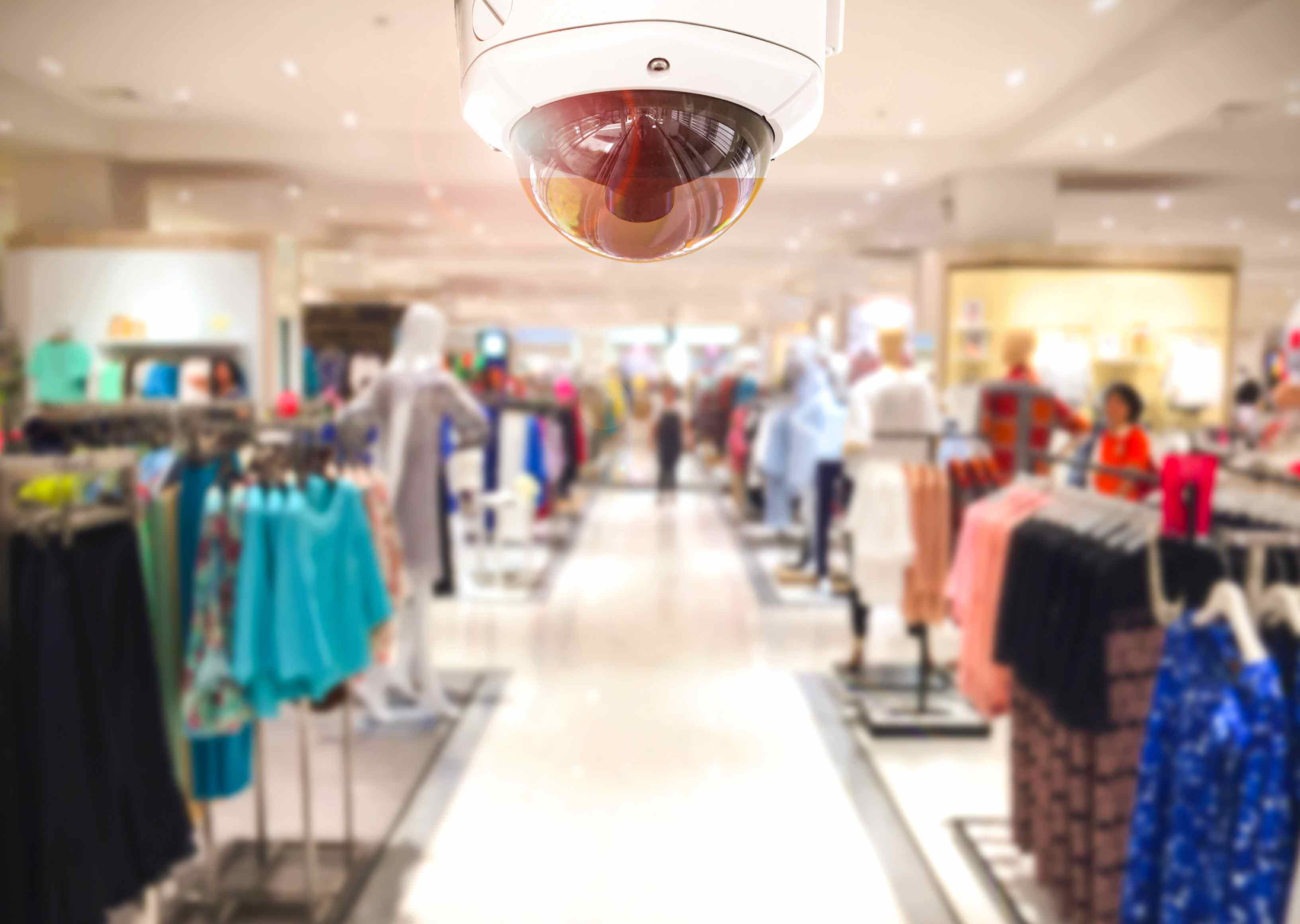 Clothing Store Security Camera
