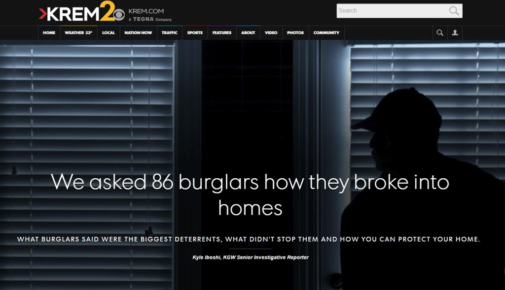 Security System Features That Deter Burglars