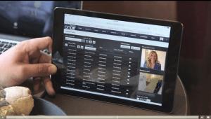 Brivo Background Image of Tablet