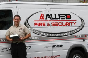 allied fire and security specialist customer service security systems integrators