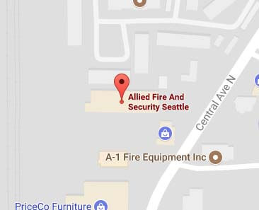 Allied Fire & Security in Seattle on Google Maps
