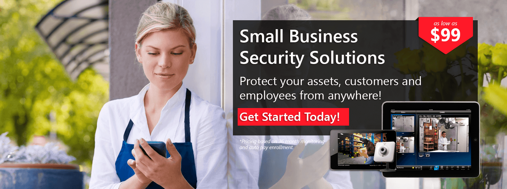 Allied Fire & Security Business Security Banner