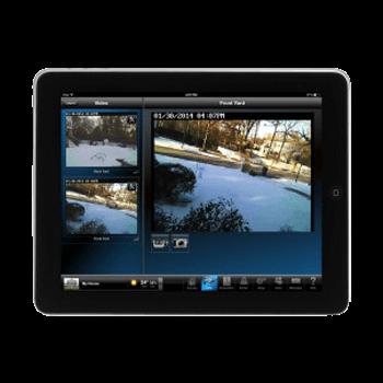Video shown on iPad