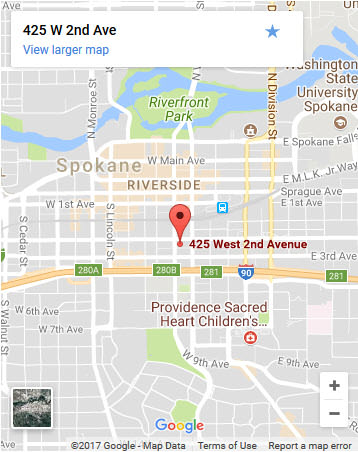 Directions to Allied Fire & Security in Spokane