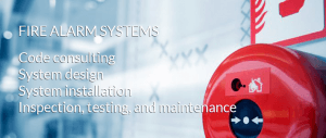fire alarm systems banner