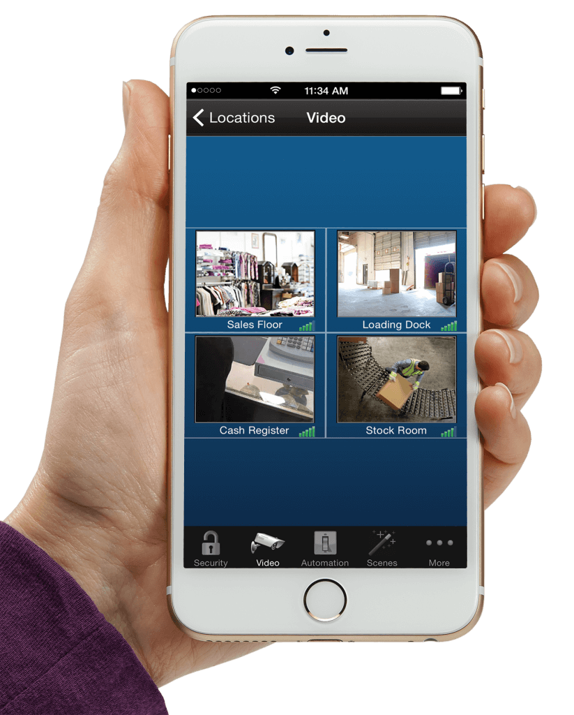 Video Surveillance on iPhone
