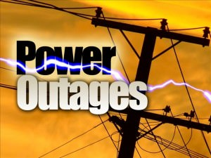 Power Outages Eastern Washington, Northern Idaho